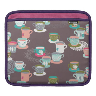 Spring Tea Garden Sleeve For iPads