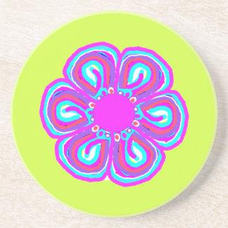 Spring Thang 5 - Monogram Customizable Beverage Coaster