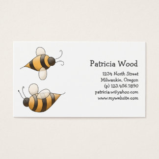 Spring Time · Bees Business Card