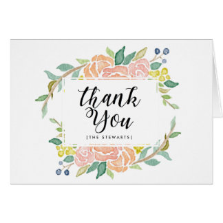 Spring Time Bouquet | Thank You Card