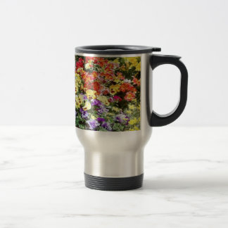 Spring Time Flowers 15 Oz Stainless Steel Travel Mug