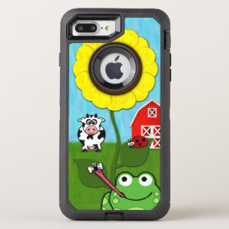 Spring Time on the Farm OtterBox Defender iPhone 8 Plus/7 Plus Case