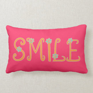 Spring Time Smiles Lumbar Pillow