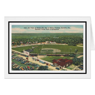 Spring Training Sarasota Card