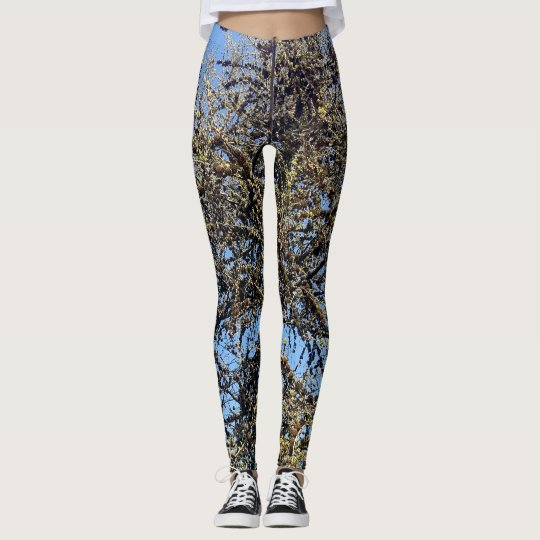Spring tree leggings