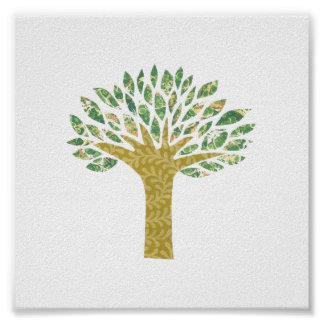 Spring Tree Poster