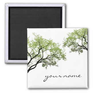 Spring Trees Magnet