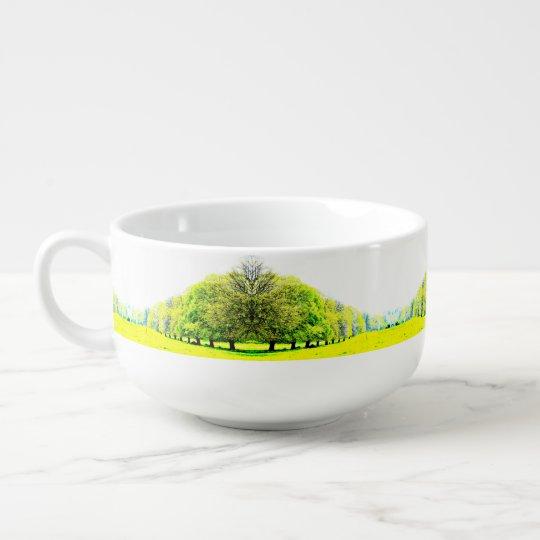 Spring Trees Soup Mug / Cereal Bowl