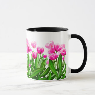 Spring Tulip Garden Mug