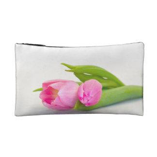 Spring Tulip Makeup Bags