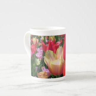 Spring Tulips Bone China Mug