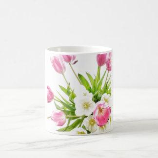 Spring Tulips Bouquet Coffee Mug