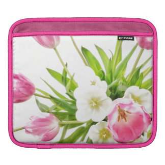Spring Tulips Bouquet iPad Sleeve