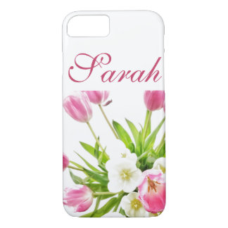 Spring Tulips Bouquet iPhone 7/8 Case