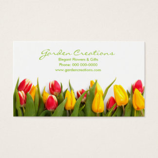 Spring Tulips Business Card