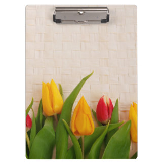 Spring Tulips Clipboard