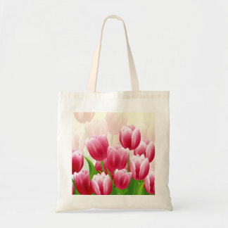 Spring Tulips Easter Gift Tote Bags