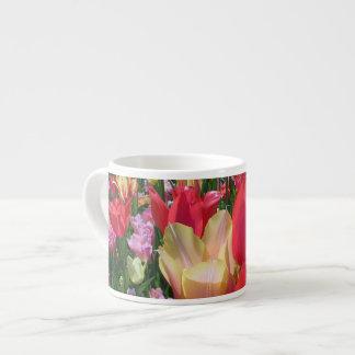 Spring Tulips Espresso Cup