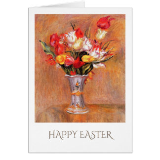 Spring Tulips. Fine Art Custom Easter Cards