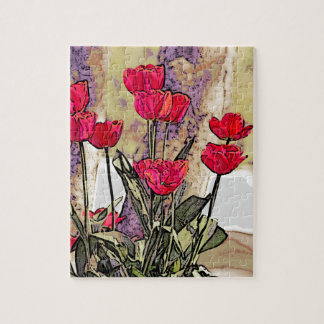 Spring Tulips Jigsaw Puzzle