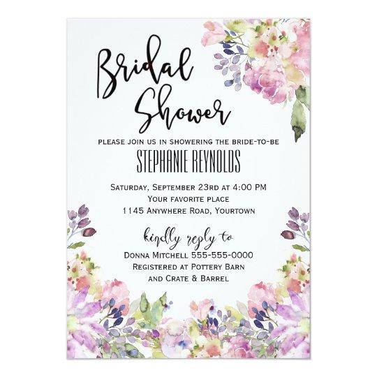 Spring Versilia Bridal Shower Invitation