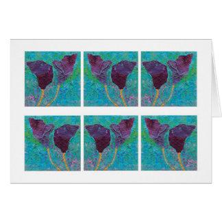 Spring Violets... Card