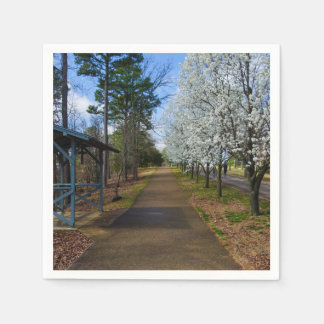 Spring Walk Disposable Napkins