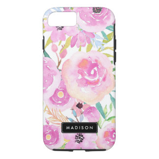 Spring Watercolor Blooms iPhone 7 Case