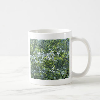 spring white dogwood flowers classic white coffee mug