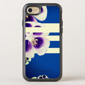 Spring will sing Floral blue & white Case