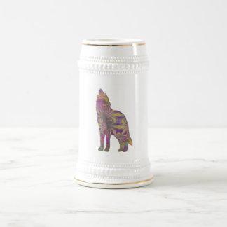 Spring Wolf Mug