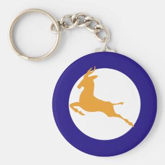 Springbok Keychain
