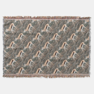 Springbok Throw Blanket