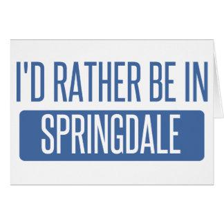 Springdale Card