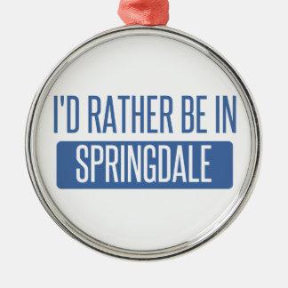 Springdale Metal Ornament