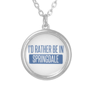 Springdale Silver Plated Necklace