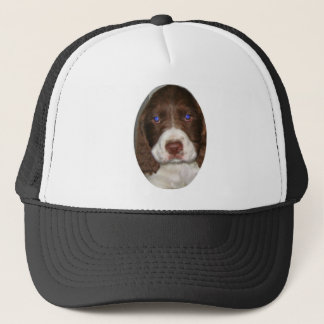 Springer Puppy Trucker Hat