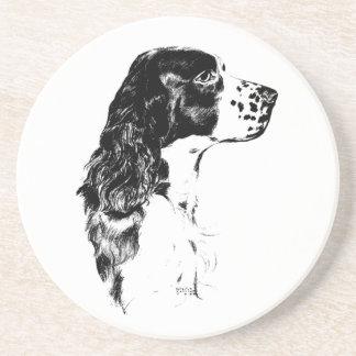 Springer Spaniel Dog Vintage Animal Coaster