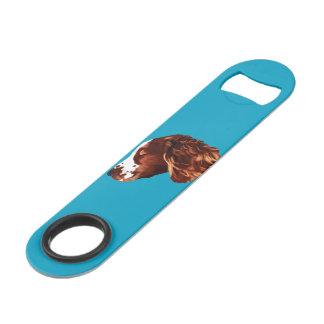 Springer spaniel speed bottle opener