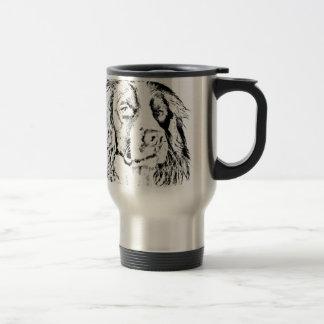 Springer spaniel travel mug