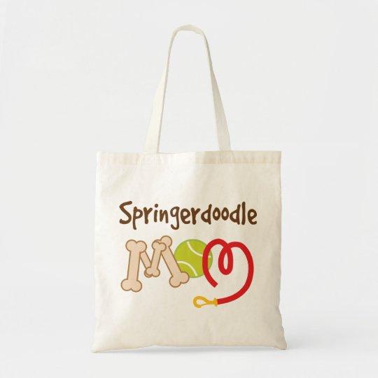 Springerdoodle Dog Breed Mom Gift Tote Bag