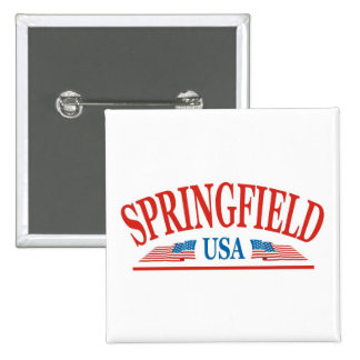 Springfield 2 Inch Square Button