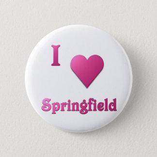 Springfield -- Hot Pink 2 Inch Round Button