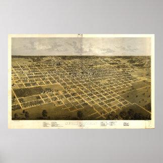 Springfield Illinois (1867) Poster