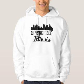 Springfield Illinois Skyline Hoodie