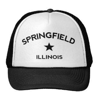 Springfield Illinois Trucker Cap Trucker Hat