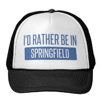 Springfield MA Trucker Hat