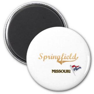 Springfield Missouri City Classic Magnet