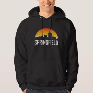 Springfield Missouri Sunset Skyline Hoodie