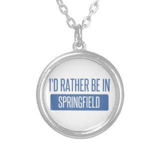 Springfield MO Silver Plated Necklace
